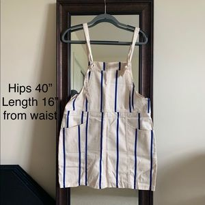 H&M overall dress